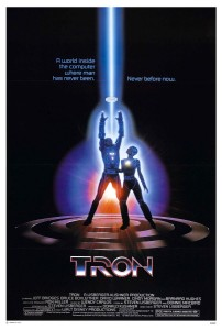 The original release poster for Tron